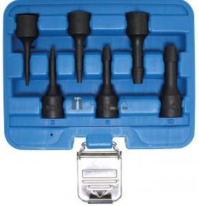BGS Technic Speciális dugókulcskészlet/Csavarkiszedő   10 mm (3/8)   2 - 10 mm   6 darabos