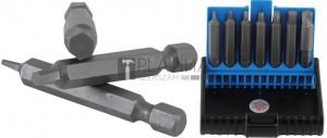 BGS Technic Csavarkiszedő készlet | hibás belső hatszögletű csavarokhoz 1,5 - 6 mm | 7 darabos