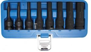 BGS Technic Levegős dugókulcskészlet | 12,5 mm (1/2 ) | Belső hatszögletű 5 - 19 mm | 8 darabos
