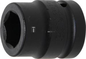 BGS Technic Levegős dugókulcs hatszögletű | 25 mm (1 ) | 27 mm