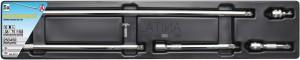 BGS Kraftmann Billenős hosszabbító készlet | 10 mm (3/8 ) | 5 darabos