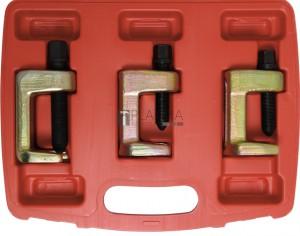 BGS Kraftmann Gömbcsukló kinyomó készlet | 23 - 28 - 34 mm | 3 darabos