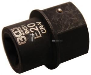 BGS Technic Betét féknyereghez E-profil | MAN TGL | Külső hatszögletű 30 mm | E20