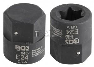 BGS Technic Betét féknyereghez E-profil | MAN TGA | Külső hatszögletű 30 mm | E24