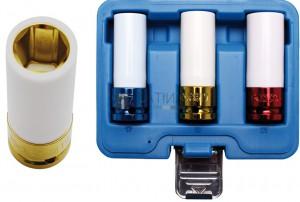BGS Technic légkulcsfej készlet | 12,5 mm (1/2 ) | 17/19/21 mm | 3 darabos