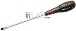 BGS Technic Csavarhúzó | Lapos 5,5 mm | Pengehossz 125 mm