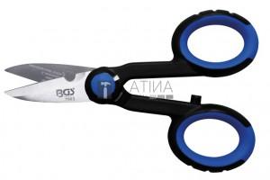 BGS Technic Villanyszerelő-olló | INOX | 145 mm