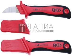 BGS Technic VDE kábelvágó kés csúszásvédelemmel