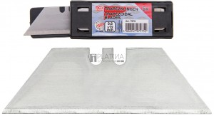 BGS Technic Trapéz pengék   0,6 x 12 mm   5 darabos