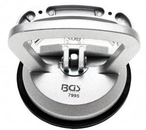 BGS Technic Gumi szívókorong | Teljesen fém kivétel | Ø 115 mm