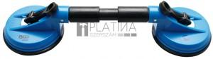 BGS Technic ABS – flexibilis fejű dupla gumi szívókorong | Ø 120 mm | 390 mm
