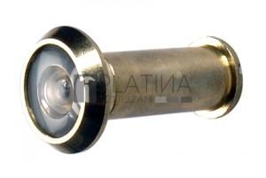BGS Kraftmann Ajtókémlelő | sárgaréz polírozott | Ø 14 mm