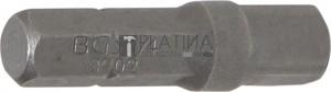 BGS Technic Behajtófej-racsni adapter | Külső hatszögletű 6,3 mm (1/4 ) - 6,3 mm (1/4 ) | 30 mm