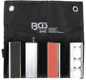 BGS Technic Mágneses védőpofák satuhoz | 8 darabos
