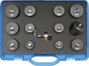 BGS Technic Turbófeltöltő töltőlevegő-rendszer vizsgálótáska készlet | Mercedes-Benz, Nissan, Renault, VW