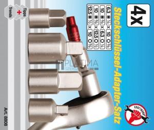 BGS Kraftmann Adapterkészlet | 4 darabos