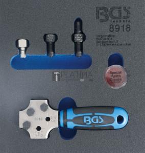 BGS Technic Profi peremező | DIN 4,75 mm & 3/16