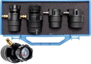 BGS Technic Turbófeltöltő diagnosztikai táska nyomásmérőkkel | 55 - 60 - 65 - 70 mm