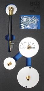 BGS Technic Adapterkészlet levegős féklégtelenítőhöz | 4 darabos