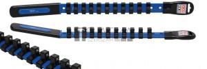 BGS Technic Dugókulcstartó sín 11 kapoccsal | 10 mm (3/8)