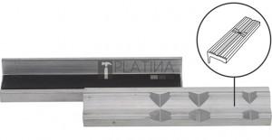BGS Technic Satu-védőpofák | Aluminium | Szélesség: 125 mm | 2 darabos
