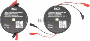 BGS Technic Krokodilcsipesz-kábeldoboz | önműködően feltekercselődő | 15 m