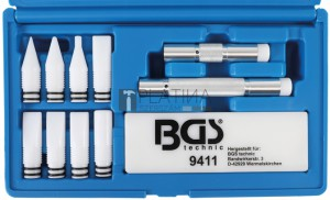 BGS Technic Horpadásjavító szerszámkészlet | 12 darabos
