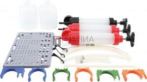 BGS Technic Folyadék-kézipumpa készlet | 350 ml | 3 darabos