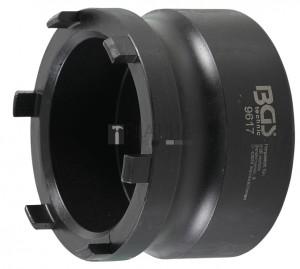 BGS Technic Hornyos dugókulcs kerékagyhoz | külső csapok | Mercedes-Benz, Nissan, Opel, Renault, VW