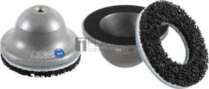 BGS Technic Kerékagycsiszoló | Alumínum harang acél maggal | belső Ø 80 mm