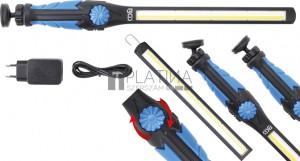 BGS Technic COB-LED / UV kézi műhelylámpa | ultra lapos