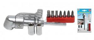 BGS Kraftmann Sarokcsavarozó előtét fúrógépekhez | 10 darabos