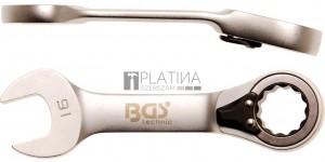 BGS Technic Racsnis csillag-villáskulcs, rövid, átkapcsolható   16 mm