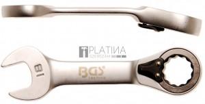 BGS Technic Racsnis csillag-villáskulcs, rövid, átkapcsolható   18 mm