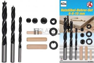 BGS Kraftmann Fatipli-/fúró-készlet | 6 - 10 mm | 43 darabos