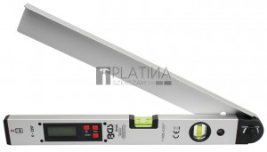 BGS Technic Digitális LCD szögmérő vízmértékkel | 450 mm