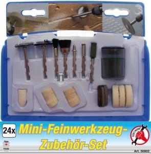BGS Kraftmann Mini finommechanikai szerszámkészlet | 24 darabos