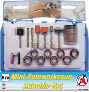 BGS Kraftmann Mini finommechanikai szerszámkészlet | 67 darabos
