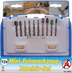 BGS Kraftmann Mini finommechanikai szerszámkészlet | 12 darabos