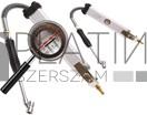 BGS Technic Légnyomásmérő/fújtató | 0 - 11 bar