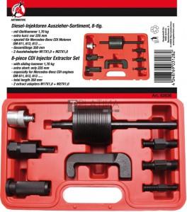 BGS Kraftmann Dízel injektorleszedő készlet | 8 darabos
