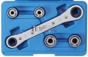 BGS Technic Tőcsavar-kiszedő készlet | 6 - 12 mm | 5 darabos