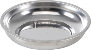 BGS Kraftmann Mágneses tálca | nemesacél | Ø 100 mm