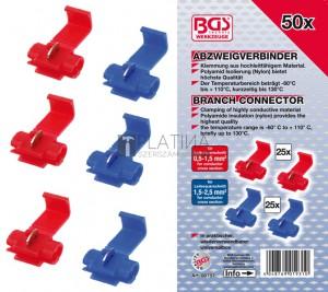 BGS Technic Kábel összekötő készlet | 50 darabos