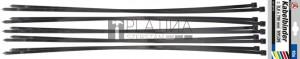 BGS Kraftmann Kábelkötegelő-készlet | fekete | 8,0 - 700 mm | 10 darabos