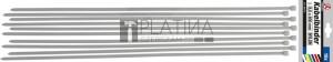 BGS Kraftmann Kábelkötegelő-készlet | fehér | 8,0 x 800 mm | 10 darabos