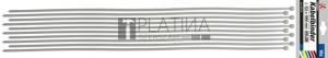BGS Kraftmann Kábelkötegelő-készlet | fehér | 8,0 x 1000 mm | 10 darabos