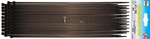 BGS Kraftmann Kábelkötegelő-készlet | fekete | 4,5 - 350 mm | 50 darabos
