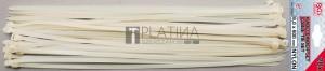 BGS Technic Kábelkötegelő-készlet | fehér | 8,0 x 600 mm | 20 darabos