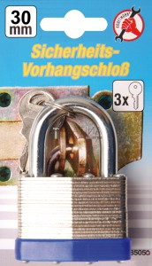 BGS Kraftmann Biztonsági lakat | 30 mm